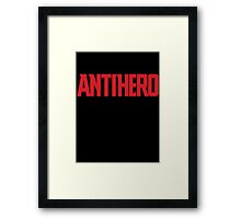 Antihero #2: Ant-Man Framed Print