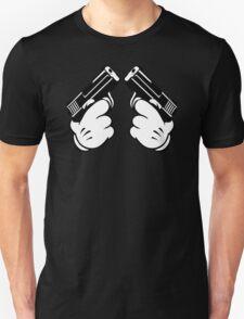 Cartoon Hand Guns T-Shirt