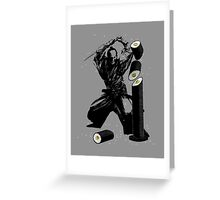 Sushi Slasher Greeting Card