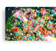 To Sprinkles and Beyond Canvas Print