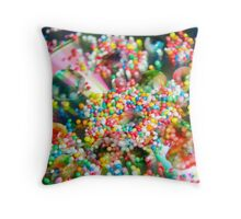 To Sprinkles and Beyond Throw Pillow