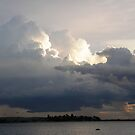 Approaching storm by Anna D'Accione