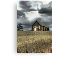 Church at Wallendbeen Canvas Print