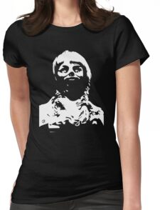 Scary Doll Womens Fitted T-Shirt