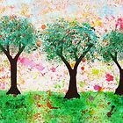 Loves Nature - Trees with Love Hearts by emelisa