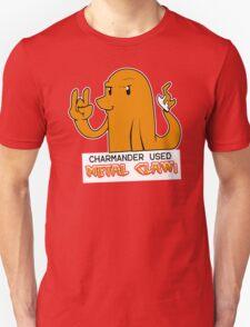 Charmander Used Metal Claw T-Shirt