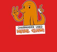 Charmander Used Metal Claw Unisex T-Shirt