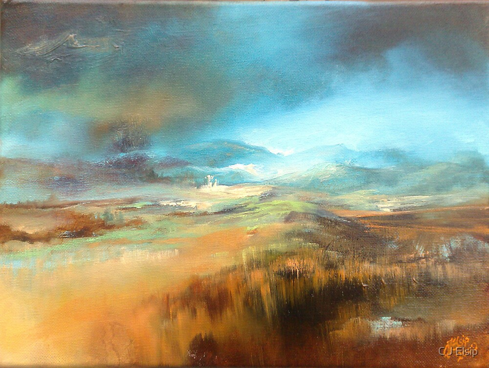Gathering Storm (Scottish Borders) by C J  Elsip