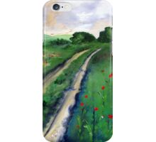 A road to somewhere iPhone Case/Skin