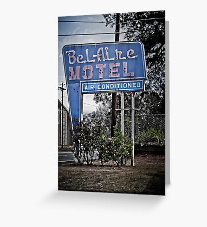 The BelAire Motel Greeting Card