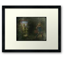 Superhero Framed Print