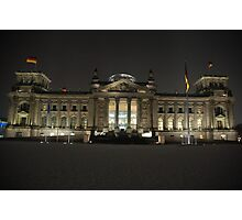 Reichstag building, Berlin, Germany Photographic Print
