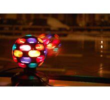 Shiney disco ball Photographic Print