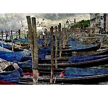 Gondole in venice Photographic Print
