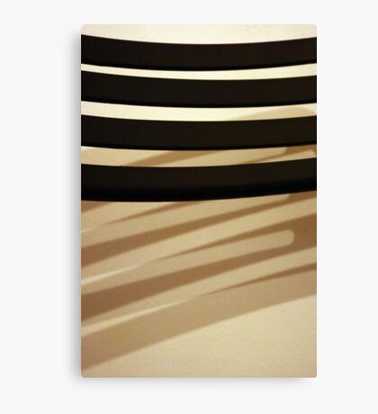Double shadow Canvas Print