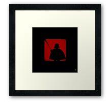 Shadow - Dark Side Framed Print