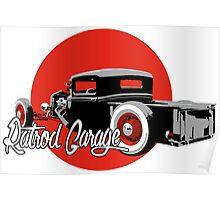 Ratrod Garage Poster