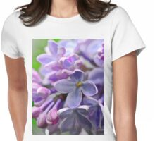 Lilac tee Womens Fitted T-Shirt