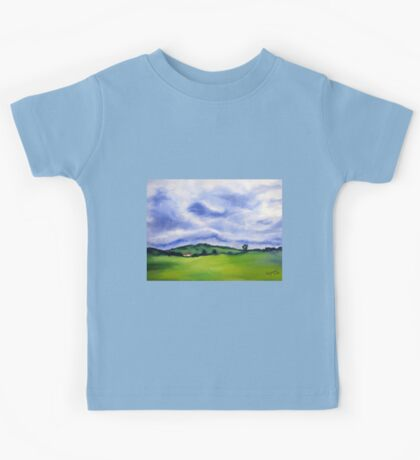 Clouds Kids Tee