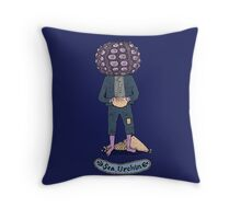Sea Urchin Beach Boy Throw Pillow