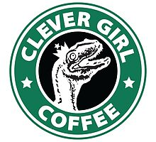 Velociraptor Coffee by marslegarde