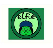 Elfie Art Print