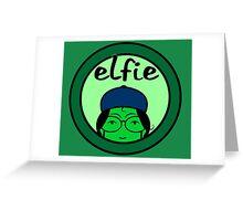 Elfie Greeting Card