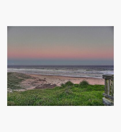 old bar beach afternoon Photographic Print