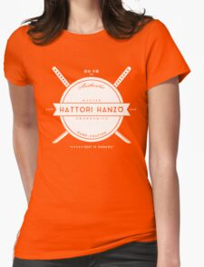 Hattori Hanzo, Master Swordsmith Womens Fitted T-Shirt