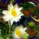 Tending Her Garden by Patricia Motley
