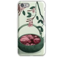 Ophelia in a teapot iPhone Case/Skin