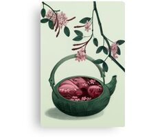 Ophelia in a teapot Canvas Print