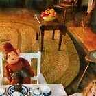 Toys - The tea party by Mike  Savad