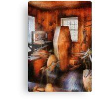 Death - The Coffin Maker Canvas Print