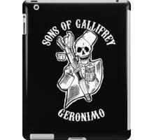 Sons of Gallifrey iPad Case/Skin
