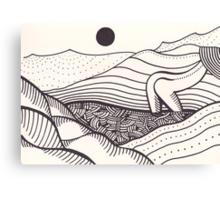 mountain ranger Canvas Print