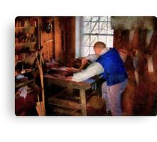 Woodworker - The master carpenter Canvas Print