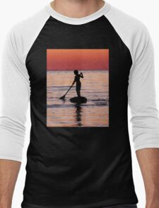 Dusk Float - Sunset Art Men's Baseball ¾ T-Shirt
