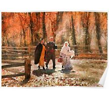 Autumn - A walk in the countryside Poster