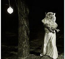 Lady Tigress by strawberries