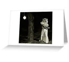 Lady Tigress Greeting Card