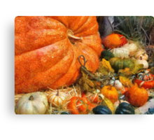 Autumn - All of my relatives Canvas Print