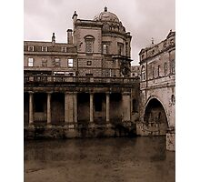A Grungy Look at Bath Photographic Print