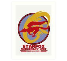 Mercenary Unit - Starfox Art Print