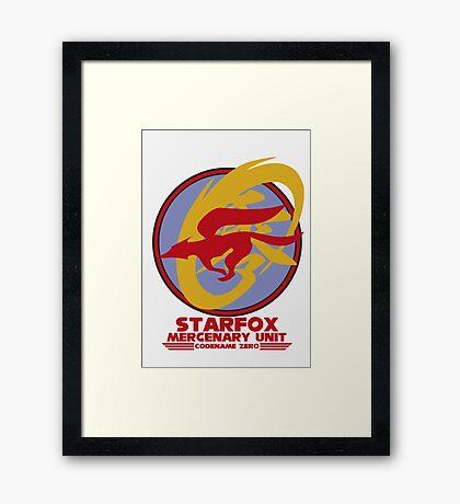 Mercenary Unit - Starfox Framed Print