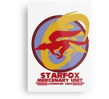 Mercenary Unit - Starfox Metal Print