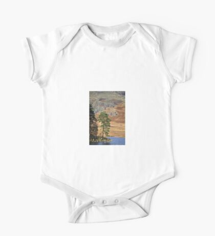 Tree at Blea Tarn, Lake District One Piece - Short Sleeve