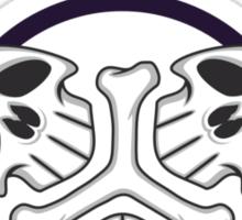 Triple Death Tribal Sticker