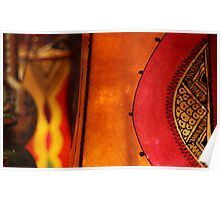 Moroccan Lamps Poster