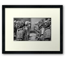 Small Soldiers Framed Print
